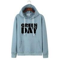 Spring Early Autumn Harajuku Hoodies Women Kpop Green Day Hoodie Kawaii Punk Rock Sweatshirt Japanese K