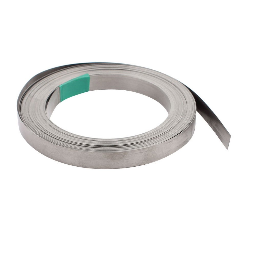 uxcell 15m/ 49ft Nichrome Electrical Wires 8mm Width 0.2mm Thickness Flat Heater Wire Silver Tone High Quality