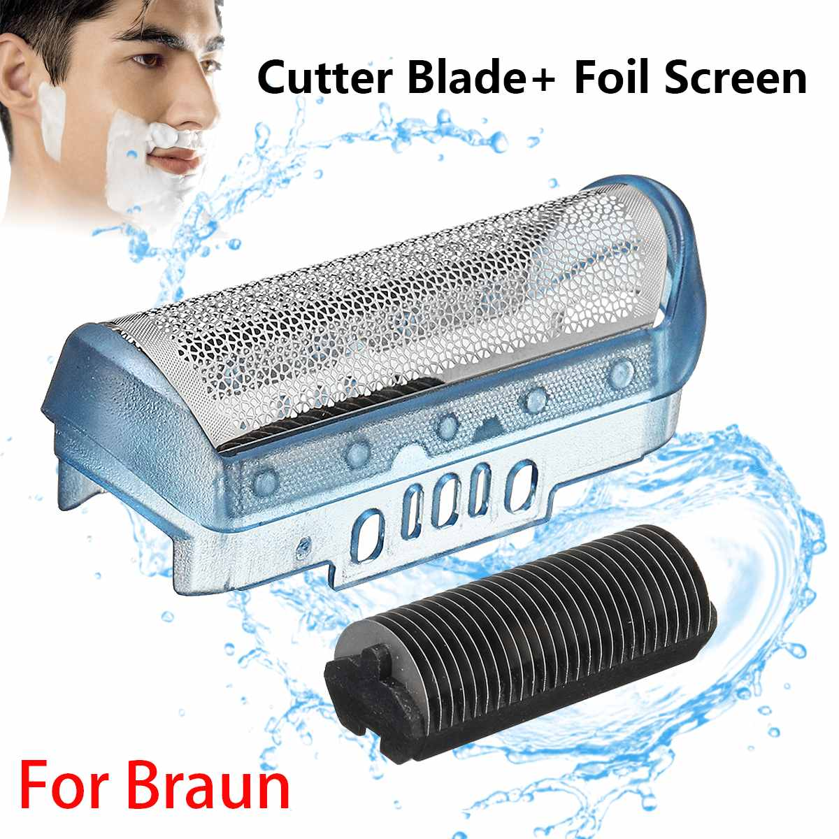 20S Shaver Foil Replacement Blade Cutter For Braun 20S Z20 Z30 Z40 Z50 Z60 2876 2615 2775 2866 For Cruzer 4 5 5732 170 180 190