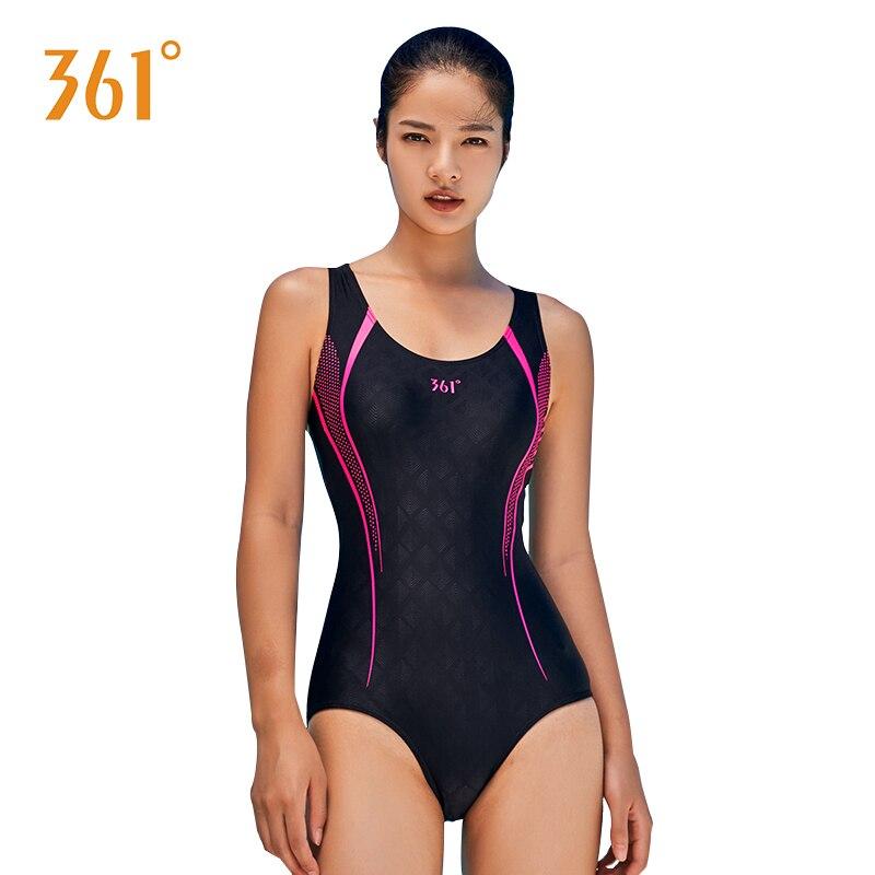 15c12cb4307c 361 mujeres Sexy espalda descubierta una pieza Bikini Push Up mujer  profesional deporte traje de baño mujer competición traje de baño piscina  traje ...