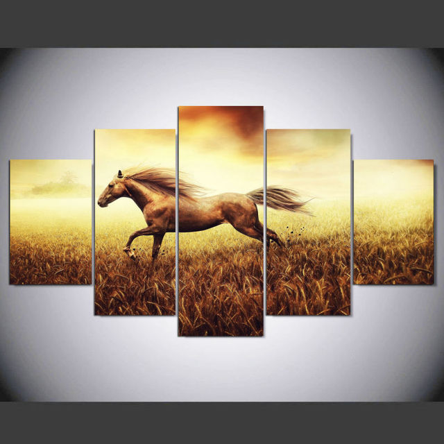 DAFENJINGMO ARTS New 5 Pieces Canvas Printings Drop Shipping ...