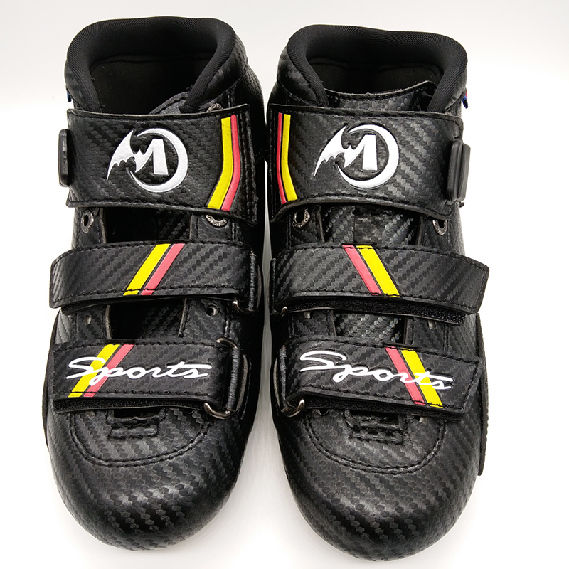 Free Shipping Adult's Speed Skates Mcgala 4-layer Carbon ONLY Boots