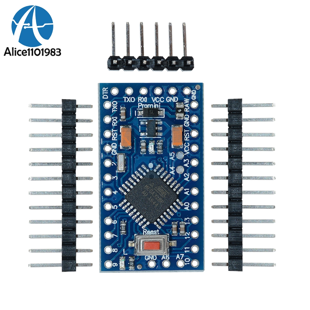 Pro Mini 3.3V 5V 8MHZ 16MHZ Atmega328 Atmega328P Module For Arduino Compatible Nano Serial Board Replace ATmega128