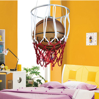 Cartoon children room lights men and girls bedroom lights creative Chandeliers eye care baby room lighting blue ball