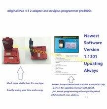 Reparatur icloud für iPad4/3/2 nand SN ändern seriennummer, original iPad 4 3 2 adapter und naviplus programmierer pro3000s(China)