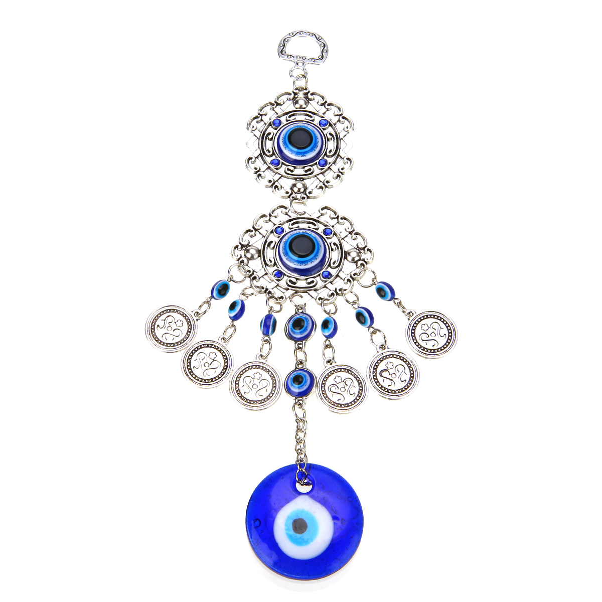 1pc Turkish Blue Evil Eye Amulet Decoration Wall Hanging