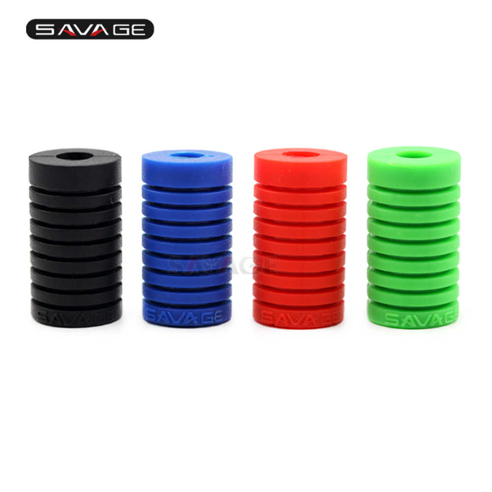 Universal Shift Lever Silica Gel Pad For Motorcycle Accessories Foot-operated The Left Motorbike Black Red Green Blue Gear Peadl