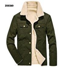 winter bomber jacket Men Casual Outerwear jackets mens cotton thick fur collar warm coats jaqueta masculino
