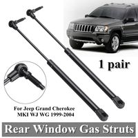 2pcs Rear Window Boot Gas Support Struts For Jeep Grand Cherokee MKI WJ WG 1999 2004