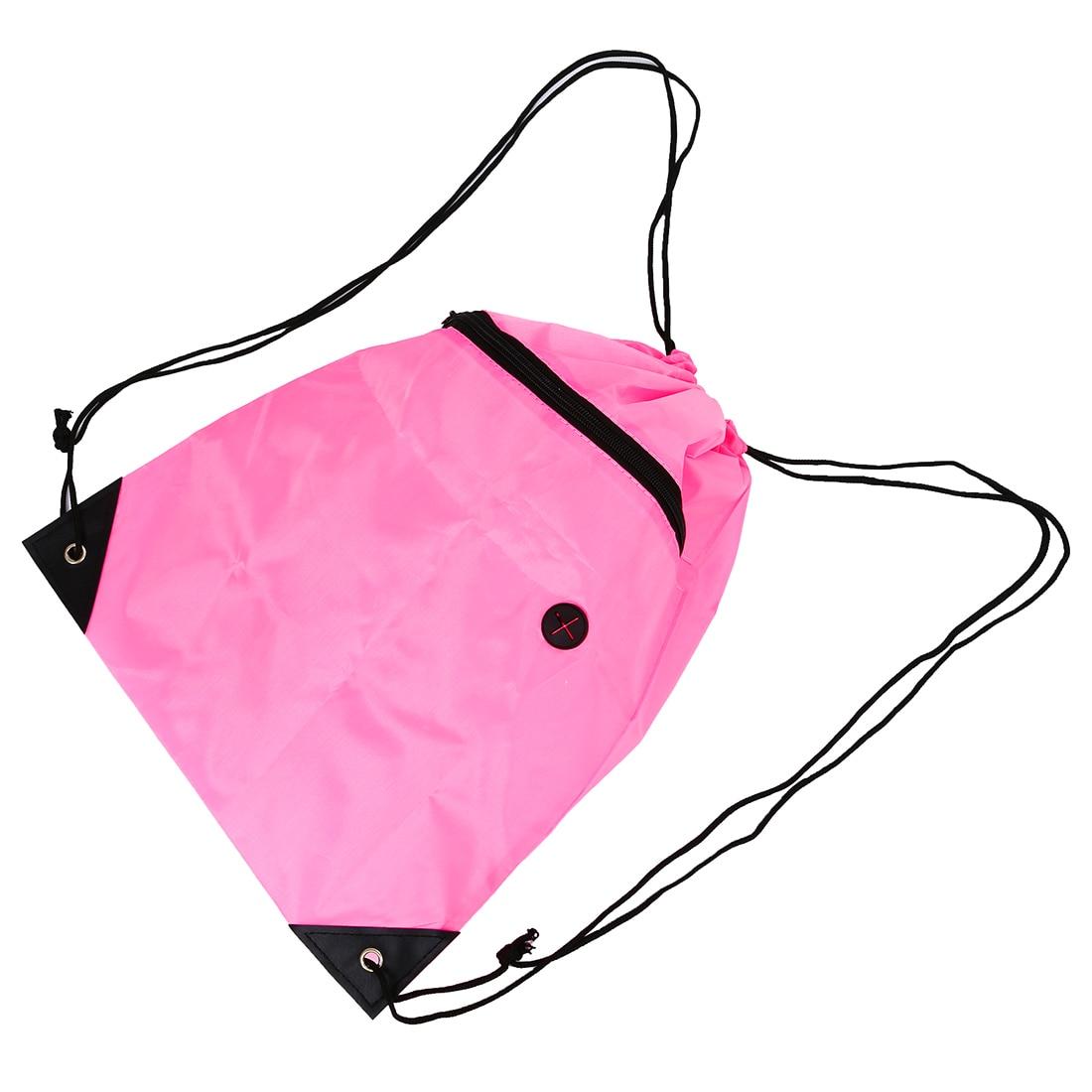 Book bag with cord PE shoe backpackBook bag with cord PE shoe backpack