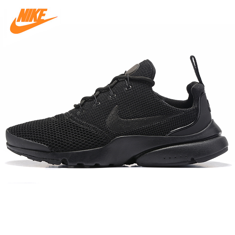 Nike Presto Fly Men's Running Shoes, Black, Shock Absorption Non-Slip Breathable Wear-resistant 908019 001 цена