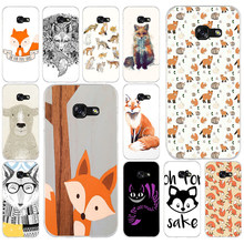260AQ Oh For Fox Sake Soft Silicone Tpu Cover phone Case for Samsung galaxy a3 a5 2016 2017 a6 A8 2018(China)