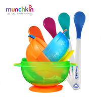 Munchkin White Hot Spoons 4pk Stay Put Suction Bowls 3pk