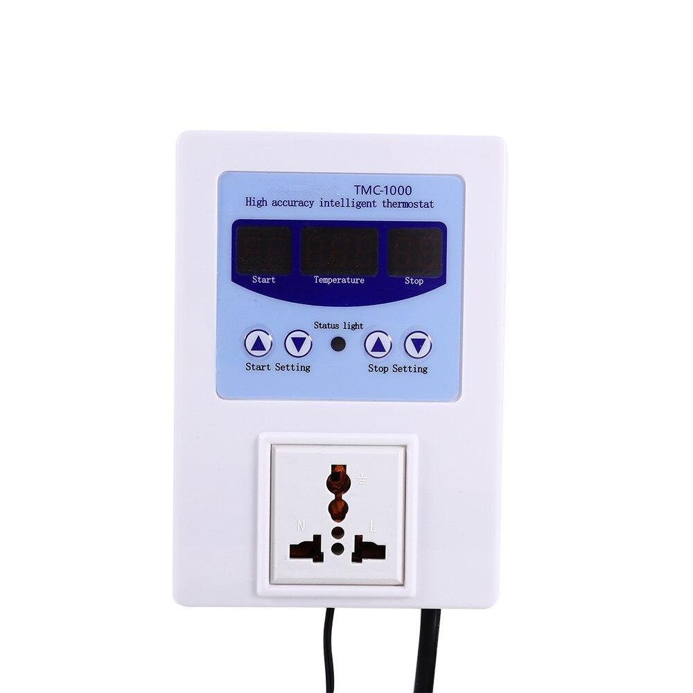 De haute précision à lintérieur chargeur intelligent électronique température contrôleur capteur ac110 240v