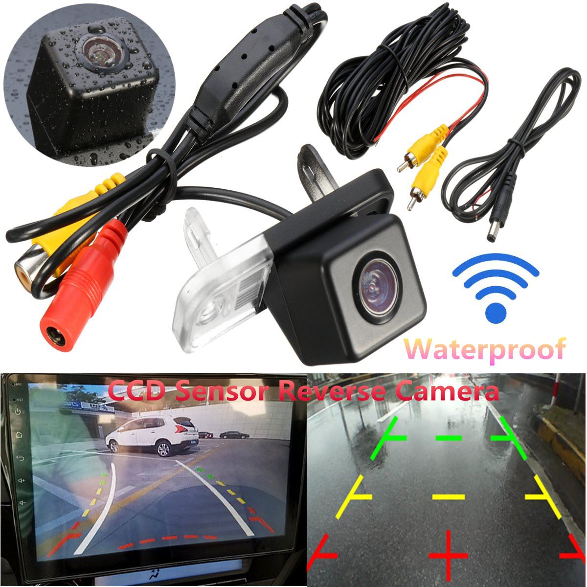 Car Camera For MercedesBenz C-Class W203 W211 CLS W219 HD Wide Lens Angle CCD Night Vision Rear View Camera