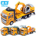 Baby toys Diecast and toy vehicle boy toys 1:48 metal alloy car model excavator machine pull back Inertia truck kids toys gifts