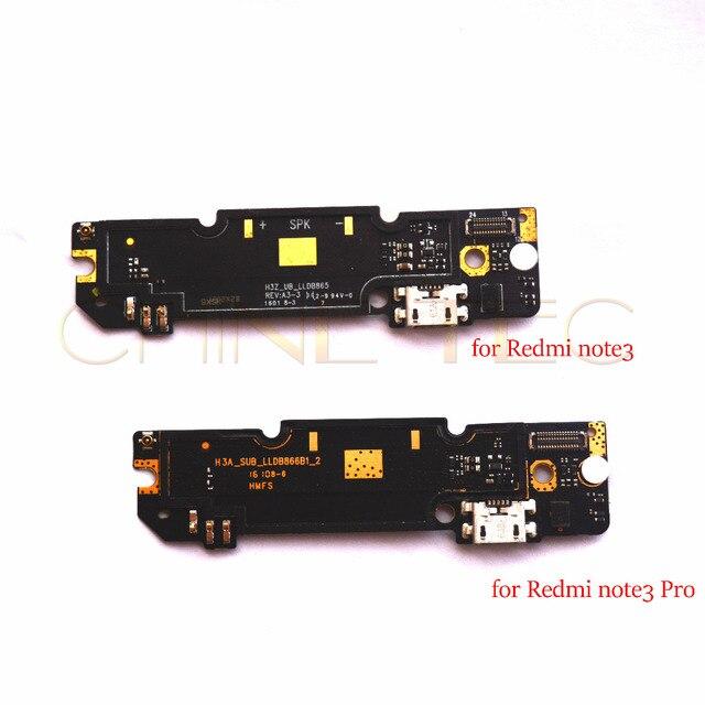 Peças originais do conector da placa do porto de carregamento do módulo usb do microfone para xiaomi redmi nota 3 pro modelo h3a