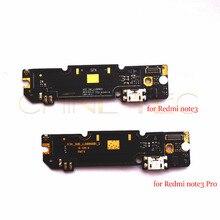 מקורי מיקרופון מודול USB טעינת נמל לוח מחבר חלקי לxiaomi Redmi הערה 3 פרו דגם H3A