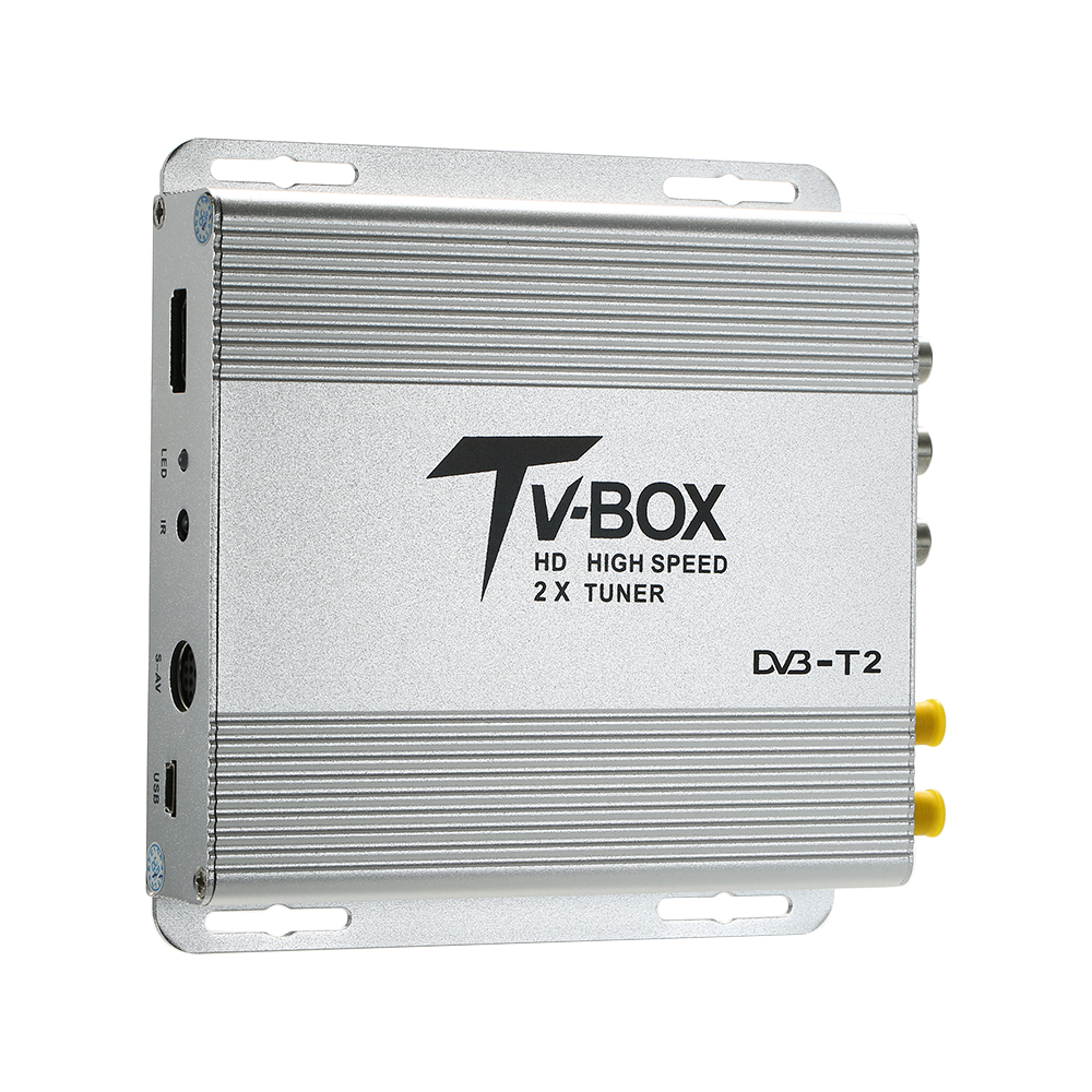 HD Auto Car Digital TV Receiver Car Mobile HD DVB T2 Receiver Digital Sat Decoder with USB Full HD in TV Receiver for Car from Automobiles Motorcycles