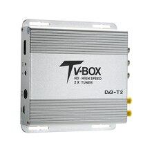 HD Auto Car Digital TV Receiver Mobile DVB-T2 Sat Decoder with USB Full