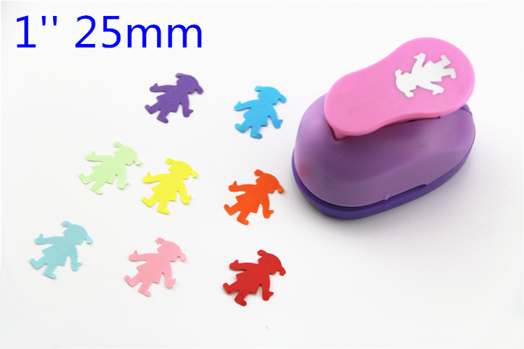 Free Ship Tulip 1'' 25mm Diy Craft Punch Hole Punch Scrapbook Paper Cutter Hole Punch Child Embosser Device Perfurador S2995