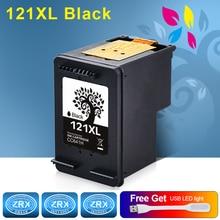 1 шт. черный картридж для HP 121XL HP 121XL cc641he для HP Deskjet f4283 f2483 f2423 f4583 Envy 110 photosmart c4783 C4683