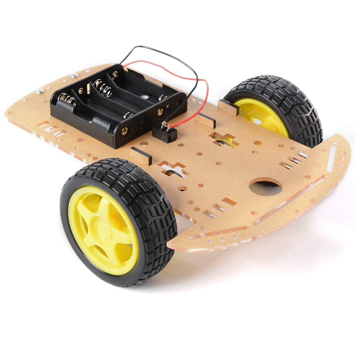 2WD Robot Car Chassis Kit For Arduino Raspberry Pi w/ Encoder and