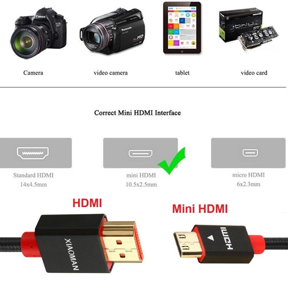 Mini HDMI to HDMI Cable (8)