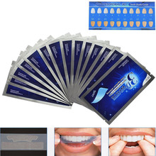3D White Gel Teeth Whitening Strips Double Elastic Dental Bleaching Tools Essentials Oral Hygiene Care 28Pcs/14Pair