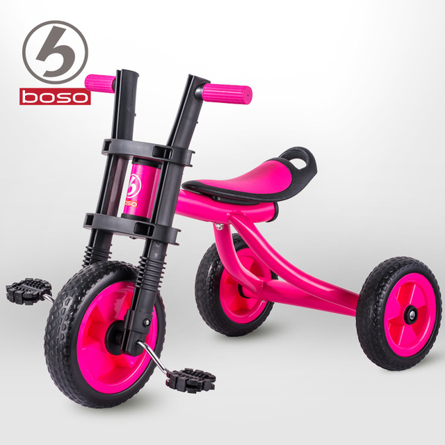 Boso simple fashion baby tricycle with non-inflatable EVA wheels hot sale baby bike child tricycle