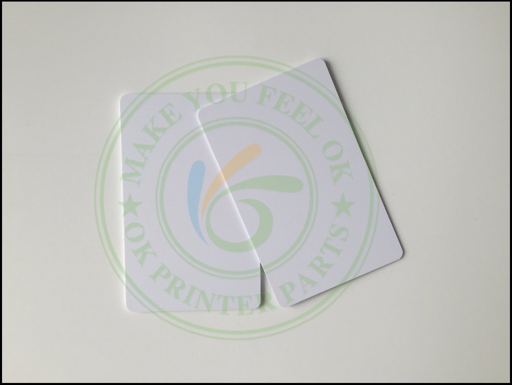 Glossy white blank inkjet printable pvc card waterproof plastic id glossy white blank inkjet printable pvc card waterproof plastic id card business card no chip for epson for canon inkjet printer in printer parts from reheart Images