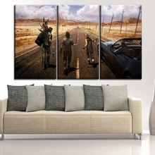 Modern Home Decorative Wall Art Modular Picture HD Prints Game Posters 3 Pieces Final Fantasy XV Character Canvas Painting