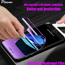 3D Full Cover For iPhone X 6 7 8 10 Plus Anti-blue Light Ray HD Soft Hydrogel Film Slim Screen Protector Film Not Tempered Glass 100 pcs dental x ray film size 30 x 40mm for dental x ray reader scanner machine
