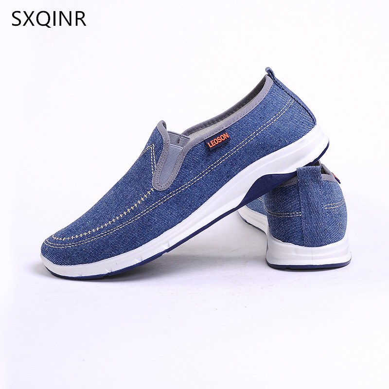 Men Casual Shoes 2018 Mens Shoes Men Flats Breathable Fashion Canvas Flat Brand Drive Male Loafers For Men Sneakers Footwear