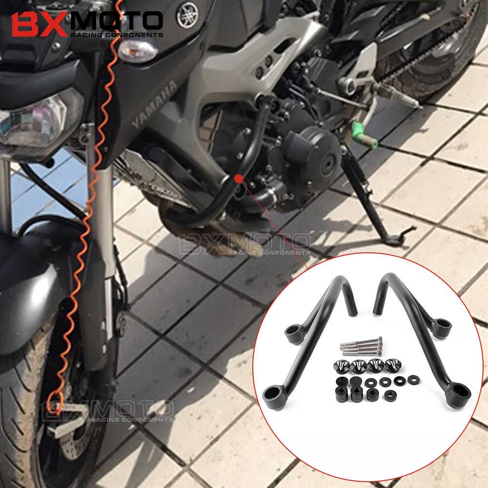 Аксессуары, Рама мотоцикла, ползунок, защита Бампера двигателя, прутки для мотоцикла, защита, сталь, для YAMAHA, MT-09, MT09, FZ09, MT 09, FZ 09
