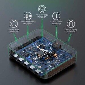 Image 5 - SeenDa 5 יציאות USB טעינת תחנת Dock עם מחזיק 50W 10A שולחן העבודה USB מטען לטלפון נייד Tablet טעינה dock ארגונית