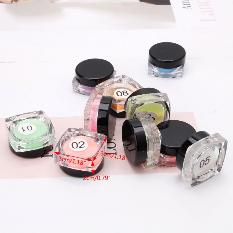 Купить с кэшбэком 10 Colors Luminous Powder Resin Pigment Dye UV Resin Epoxy DIY Making Jewelry