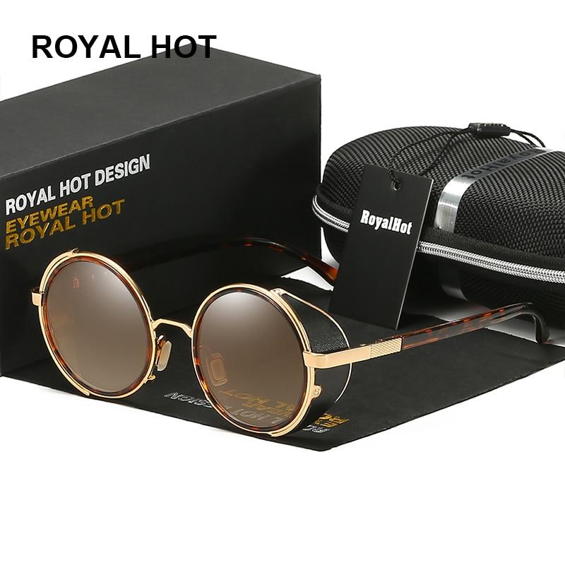 RoyalHot for Dropshipping Own US Warehouse Men Women Polarized UV400 Round Sunglasses