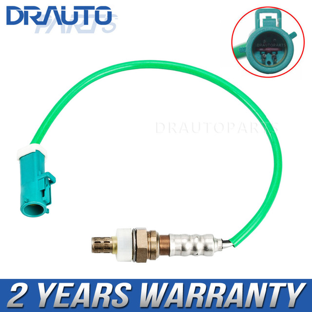 4 wires o2 lambda oxygen sensor for ford focus mk1 fiesta fusion ka mondeo  98ab-9f472-bb 98ab9f472bb direct fitment