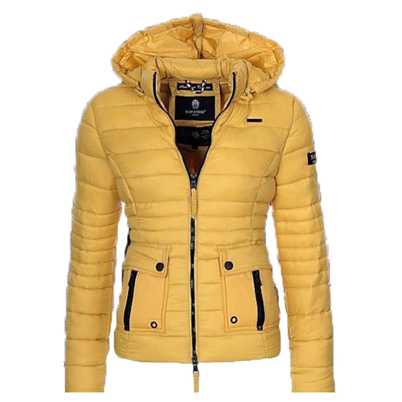 Zogaa S-3Xl Girls's Cotton Parkas Coats Puffer Jacket Parka Girls Style Slim Match Strong Coat Outwear Girls Parkas