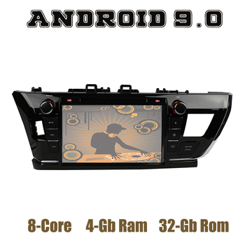 Android 9.0 Car DVD GPS Player for toyota Corolla 2014-2016 Middle-East version with DSP wifi usb 4+32GB Auto Multimedia Stereo