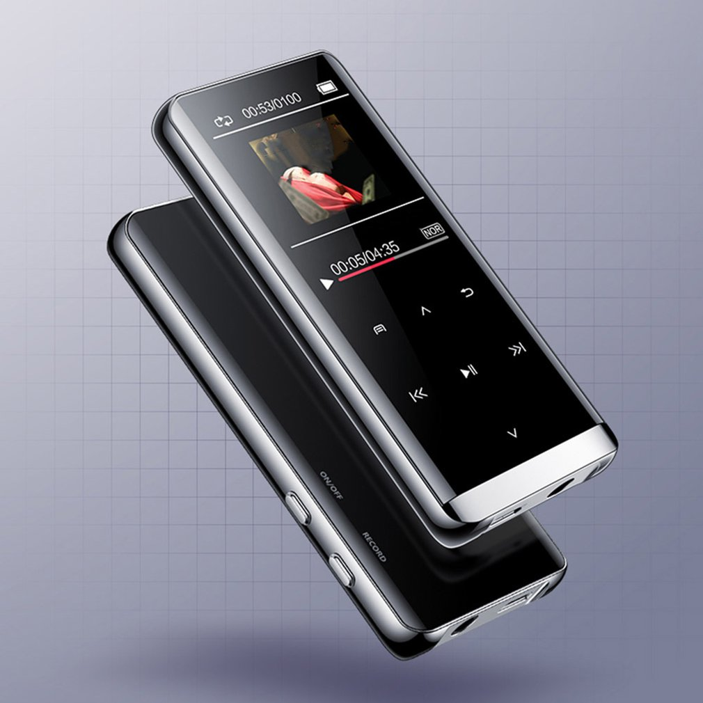 Bluetooth MP3 Player HIFI Sport Music Speakers Media FM Radio Recorder  Support OTG Walkman Sports Music Speaker