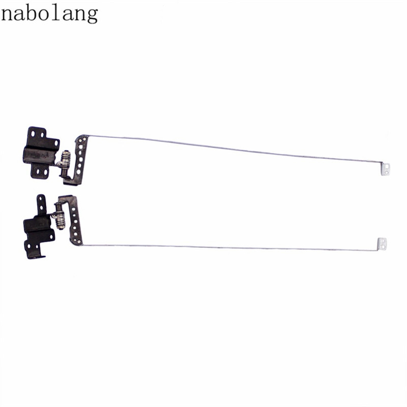 Nabolang 1 pair (left & right) LCD Hinges for Toshiba Satellite C70 C70-A C70D-A C75 C75-A C75D-A laptop Hinges v420h2 xle1 v420h2 xre1 lcd pcb parts a pair