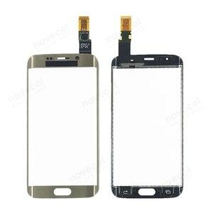 Image 5 - G925 di Tocco Digitale Dello Schermo Per Samsung Galaxy S6 Bordo G9250 G925F Sensore di Tocco Pannello di Vetro di Ricambio parte di riparazione