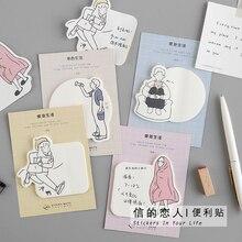 30 листов/блокнот веселый праздничный блокнот-Блокнот N Times Sticky Notes memo закладки для блокнота подарочные канцелярские товары