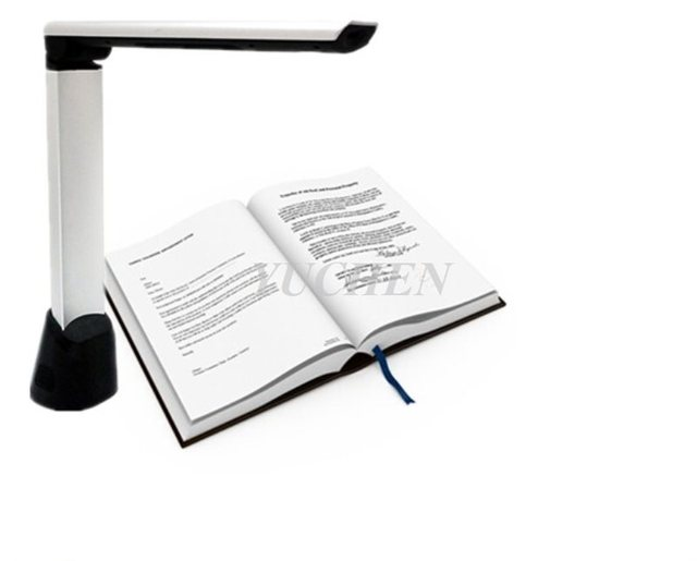 US $71 2 20% OFF|A4 5 Megapixel Document Scanner CMOS 2592x1944 Book  Scanner OCR Document Camera For Office Book Photo ID Card Image-in Visual