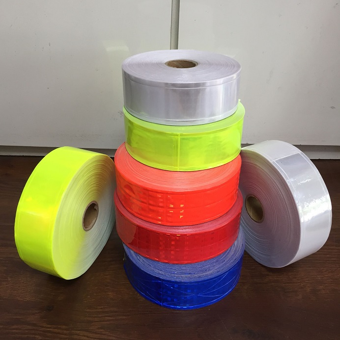 5CM*5M PVC Reflective Warning Tape Road Traffic Clothing Bag Shoes Reflective Strips Furniture Wall Decorative Film