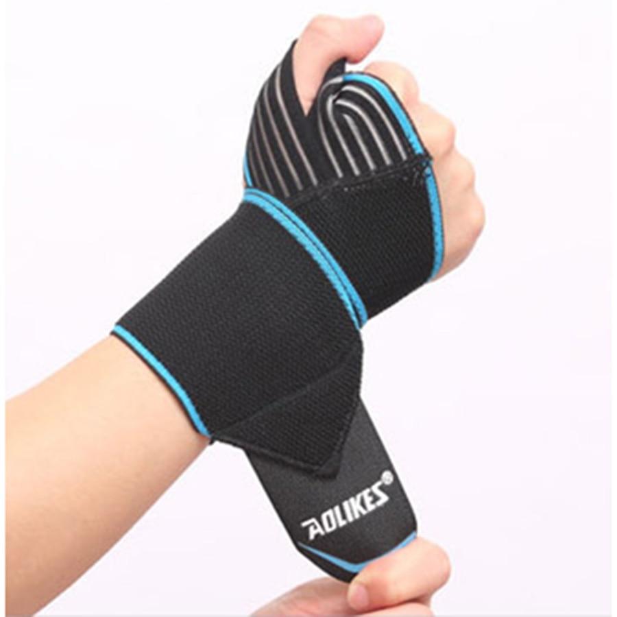1 db súlyemelés fitneszkötés kézi csuklópántok sport karszalagok támaszkodnak csuklóvédő karpa alagút melltartó edzőcsomagolás