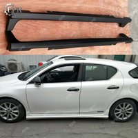 For Lexus CT200h (2011+) TM Style FRP Glass Fiber Side Skirt Body Kit Tuning Part For Lexus Fiberglass CT200h Side Skirt