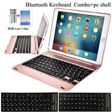 54051a0a5c3 For Apple iPad 9.7 2018 2017 6th 5th Generation Wireless Bluetooth Keyboard  Case For iPad Air 1 / AIR 2 / Pro 9.7 Keyboard Case